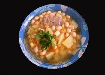 Фасолевый суп - Рецепты фасолевого супа - Как правильно варить