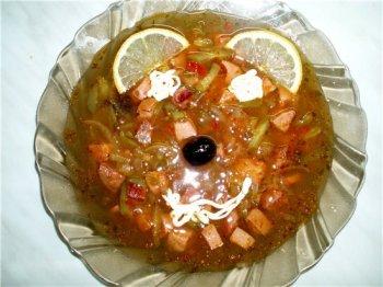 солянка рецепт как второе блюдо #11